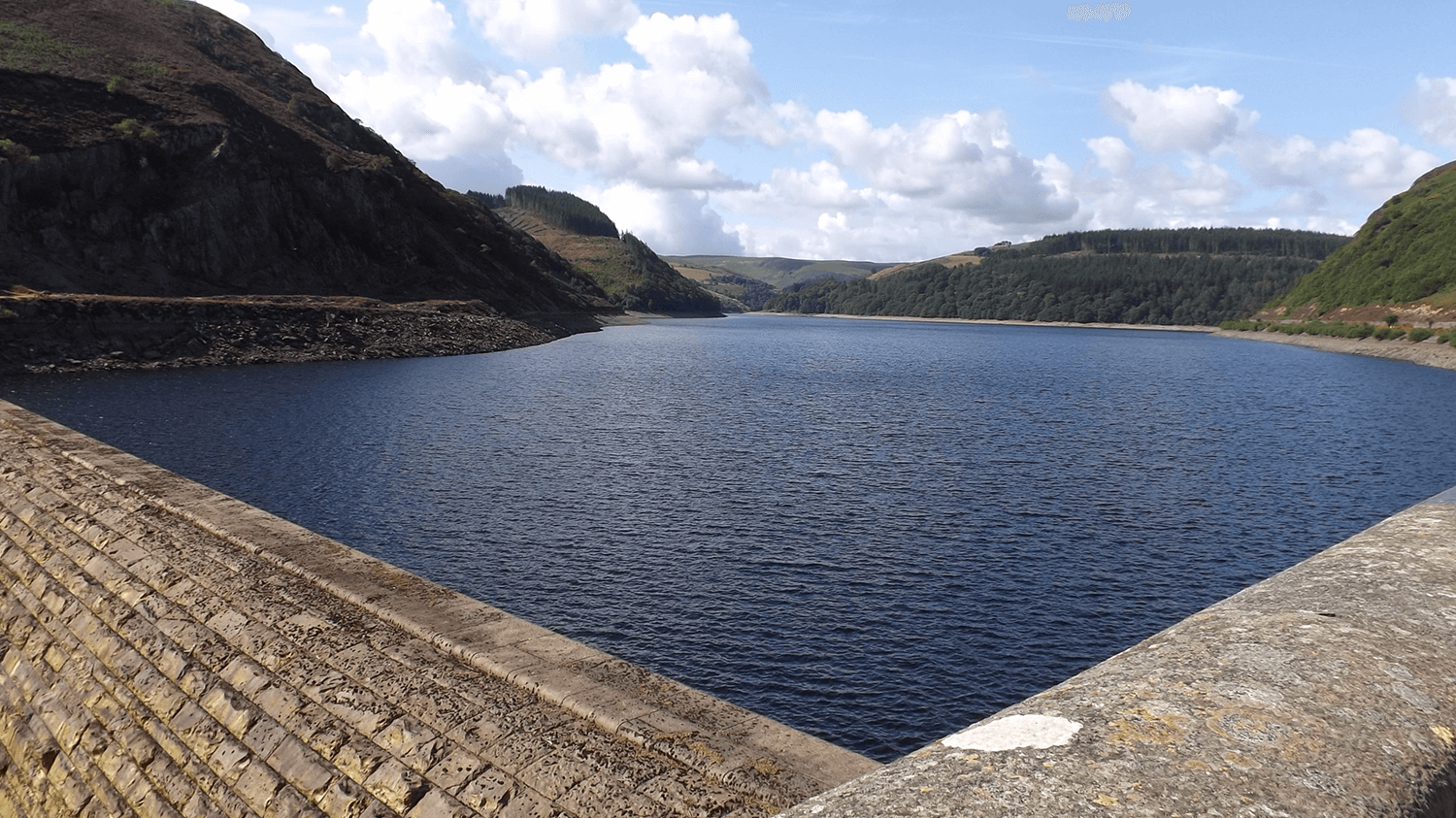Caban Coch Dam near Brecon
